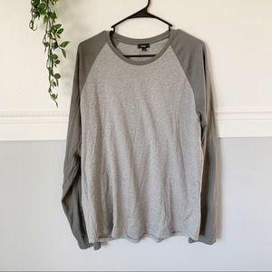 Men's Vince Long Sleeve Baseball T-Shirt